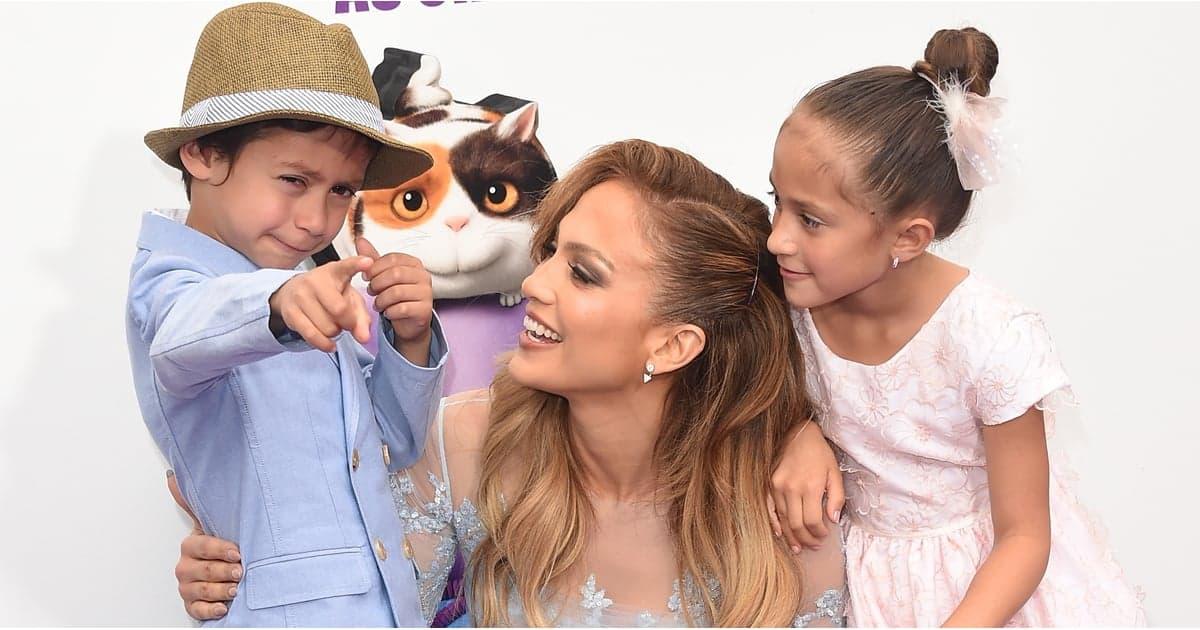 Jennifer Lopez kids dp