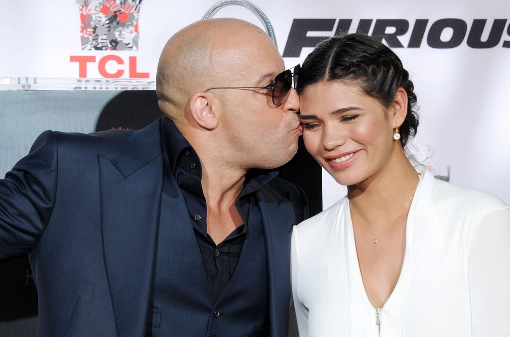 Vin Diesel Wife Girlfriend And Daughter