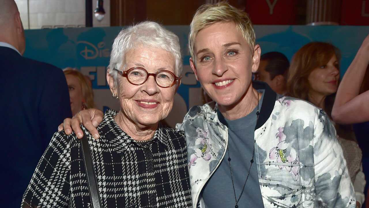 Ellen DeGeneres mother dp