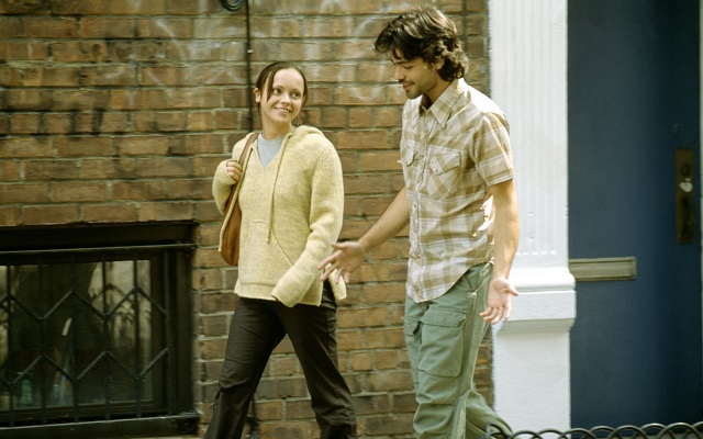Adrian and Christina Ricci in 'Anything Else'