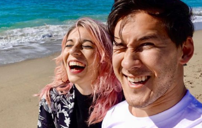 Amy Nelson and Markiplier