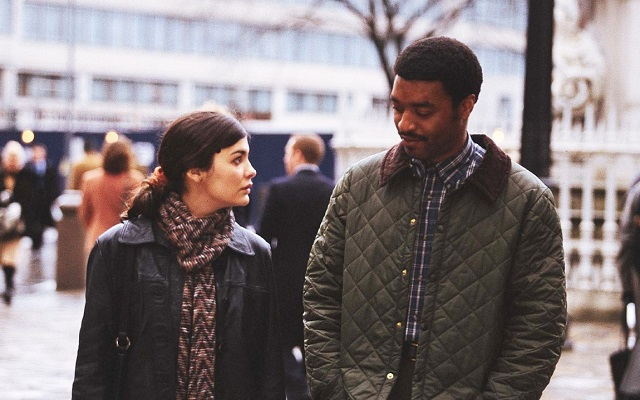 Audrey Tautou movies - Chiwetel Ejiofor and Audrey Tautou in 'Dirty Pretty Things'