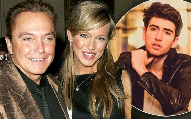 Beau Cassidy (right), Katie Cassidy (middle), and David Cassidy (left)