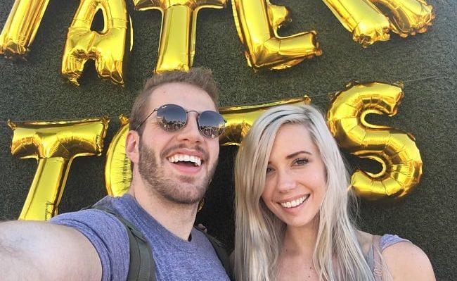 Blaine Gibson and Alanah