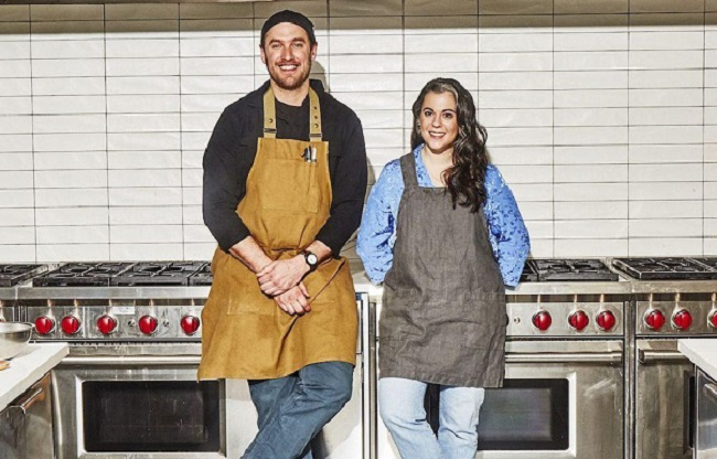 Brad Leone and Claire Saffitz