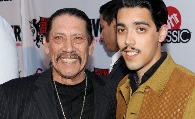 Danny Trejo and son Gilberto Trejo