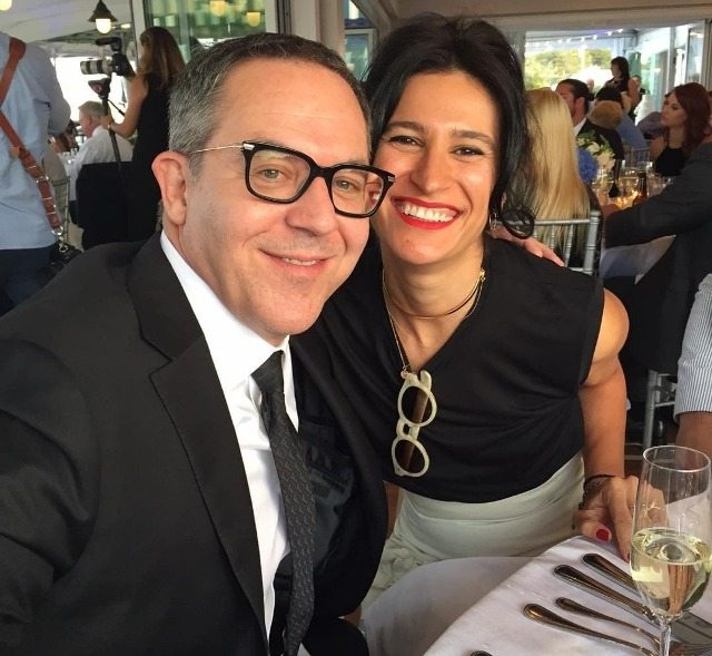 Elena Moussa and husband Greg Gutfeld