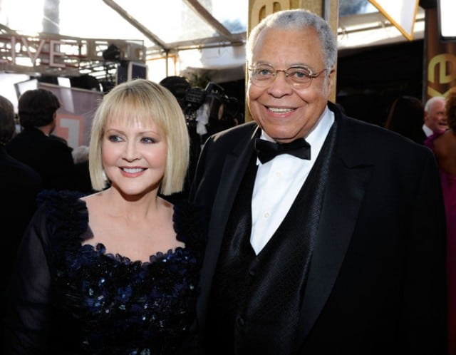 James Earl Jones and wife Cecilia Hart
