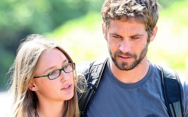 Jasmine Pilchard-Gosnell and Paul Walker