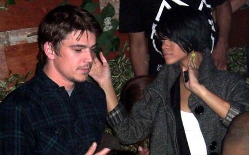 Josh hartnett and rihanna dating