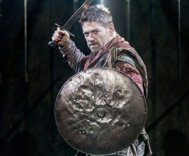 Kenneth Branagh pictured on stage as Macbeth: Image Source
