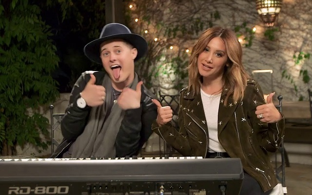 Lucas Grabeel and Ashley Tisdale