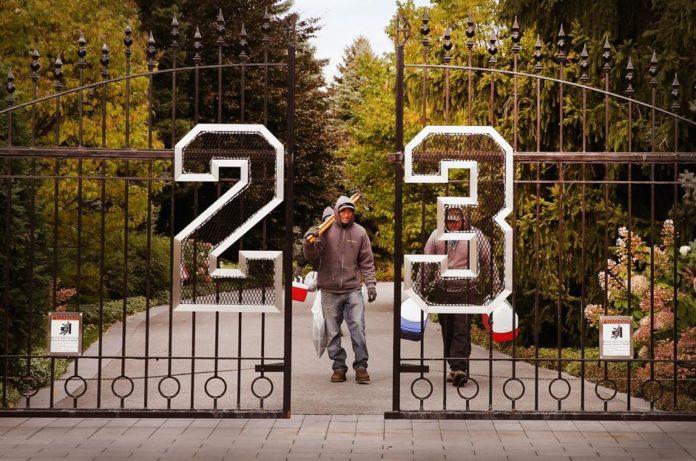 Michael Jordan's mansion dpdp