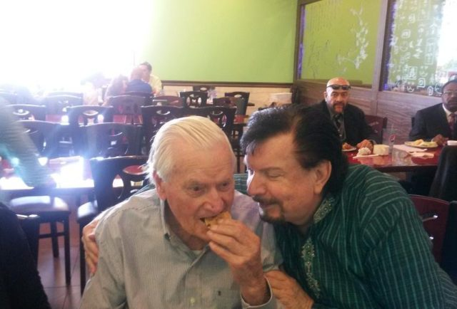 Photo of Mike Murdock  & his  Father  John Ellis Murdock