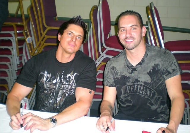 Nick Groff and Zak Bagans