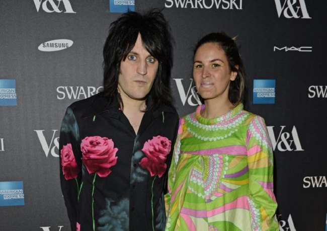 Noel Fielding and Lliana Bird
