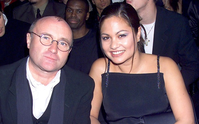 Orianne Cevey and her ex-husband, Phil Collins