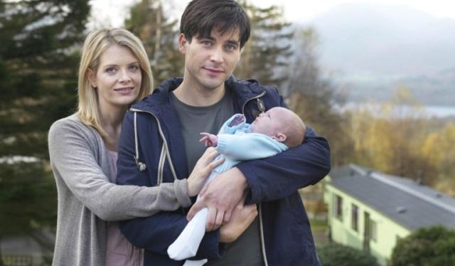 Rob James-Collier wife and son