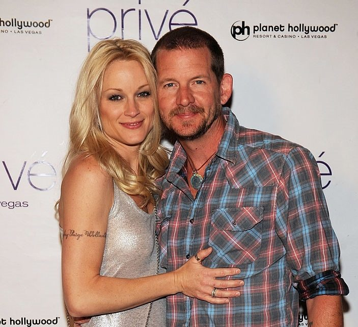Teri Polo and Jamie Wollam