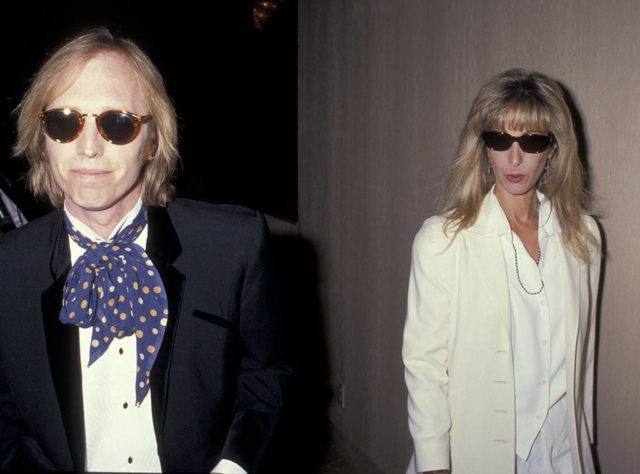 Tom Petty and his first wife Jane Benyo