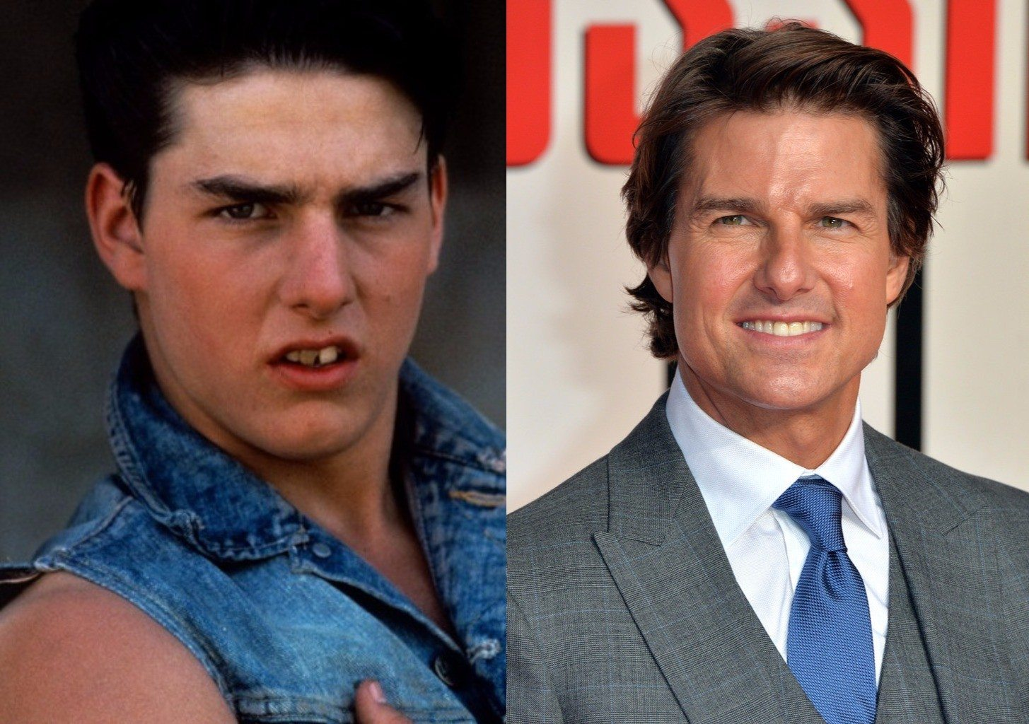 Young Tom Cruise Versu... Tom Cruise Age