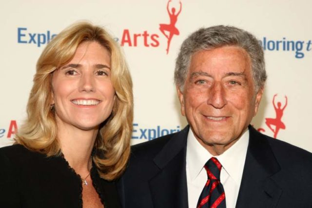Tony Bennett and Susan Benedetto