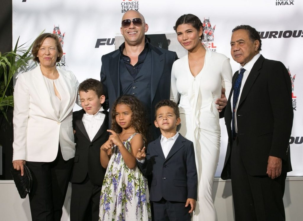 Vin Diesel Twin Brother and Family