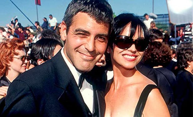 george clooney ex-girlfriend's list