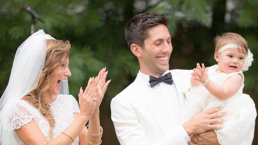 Nev Schulman with nice, Wife Laura Perlongo