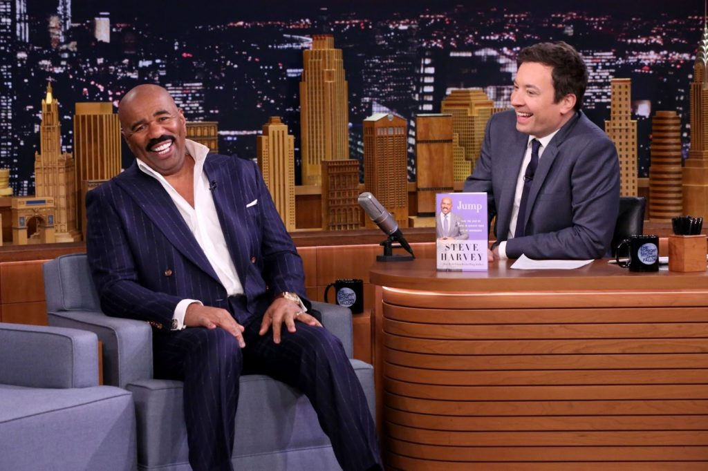 Jimmy Fallon's Height Compared to Steve Harvey's